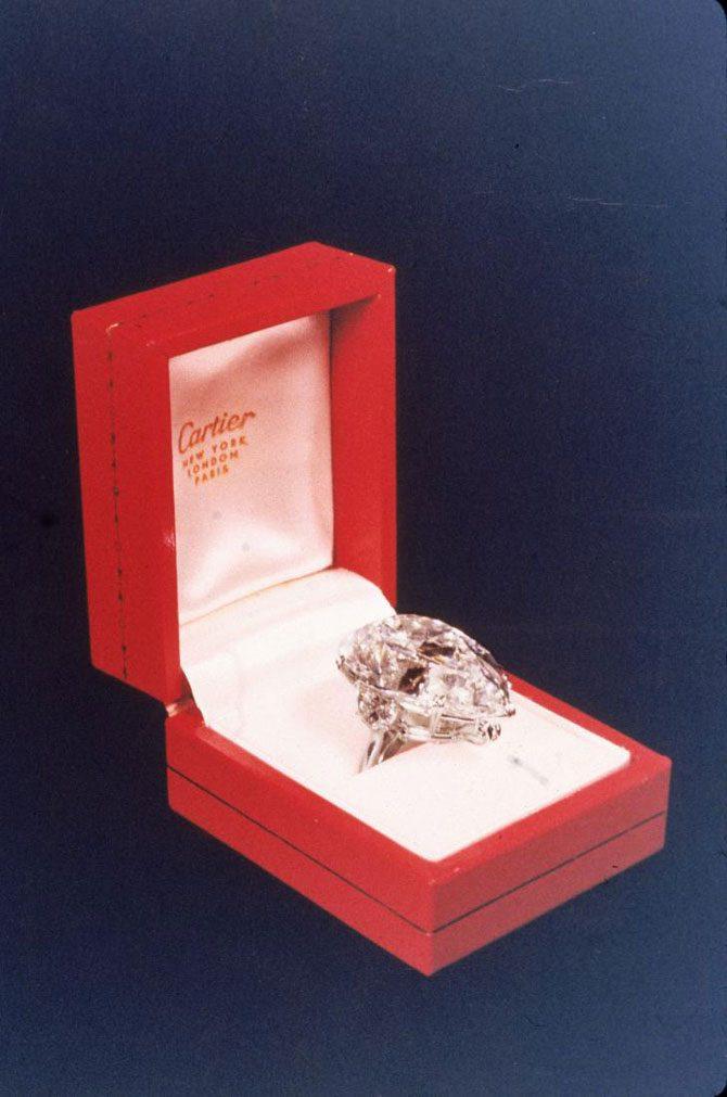 Elizabeth taylor engagement ring