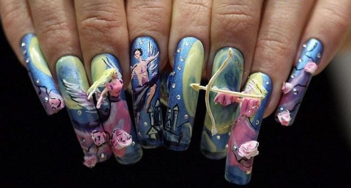 Ногти красиво и необычно
