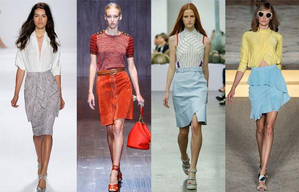 Модная юбка лето 2015