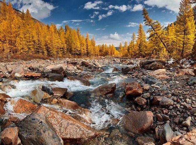 Волшебные пейзажи осеннего Алтая