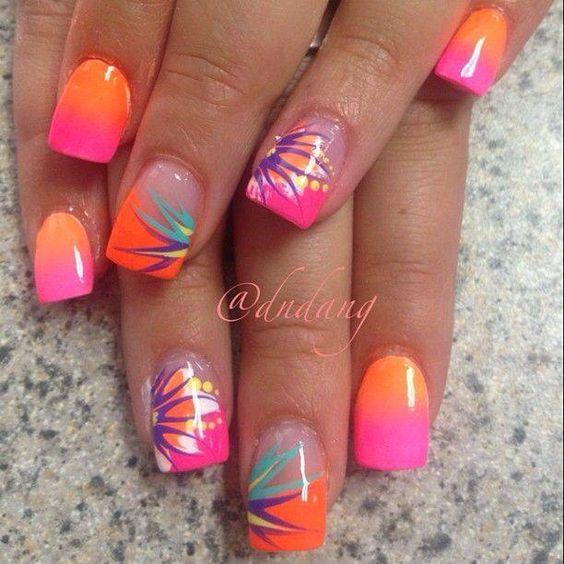 Какие есть полоски на ногтях