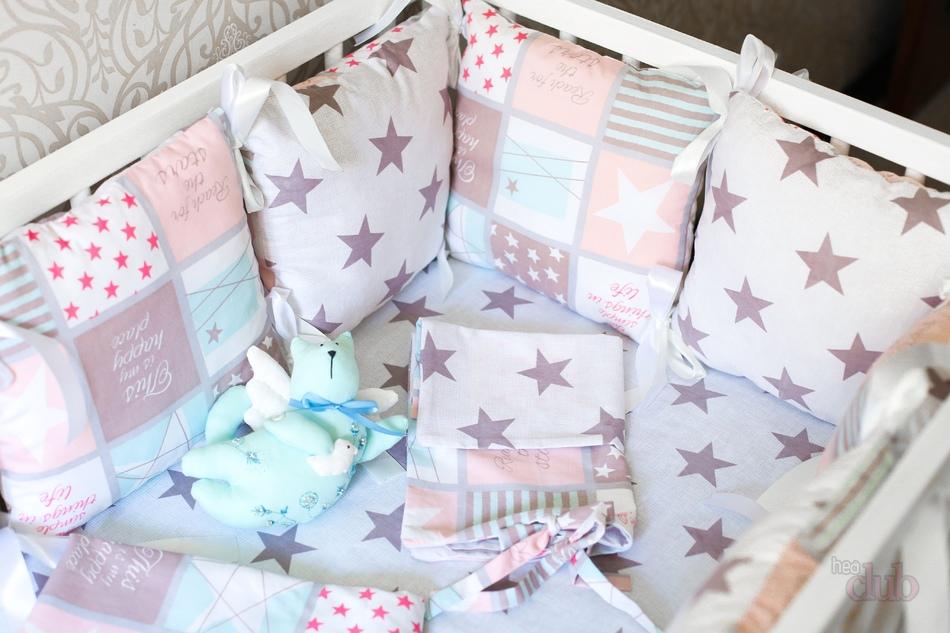 Постельные комплекты для новорожденных своими руками 76