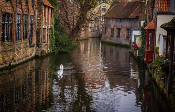Брюгге — средневековая сказка в Бельгии (21 фото)