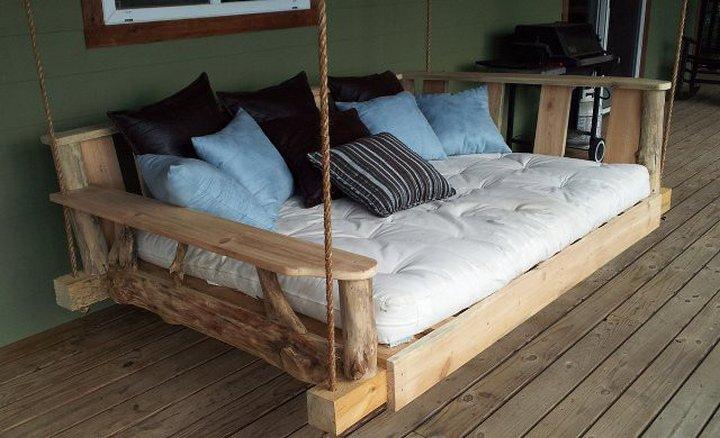 Садовая кровать из дерева своими руками