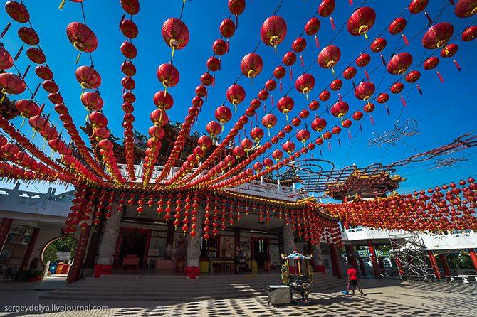 Потрясающие храмы Куала-Лумпура