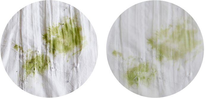 Как вывести пятно с белой одежды от травы фото