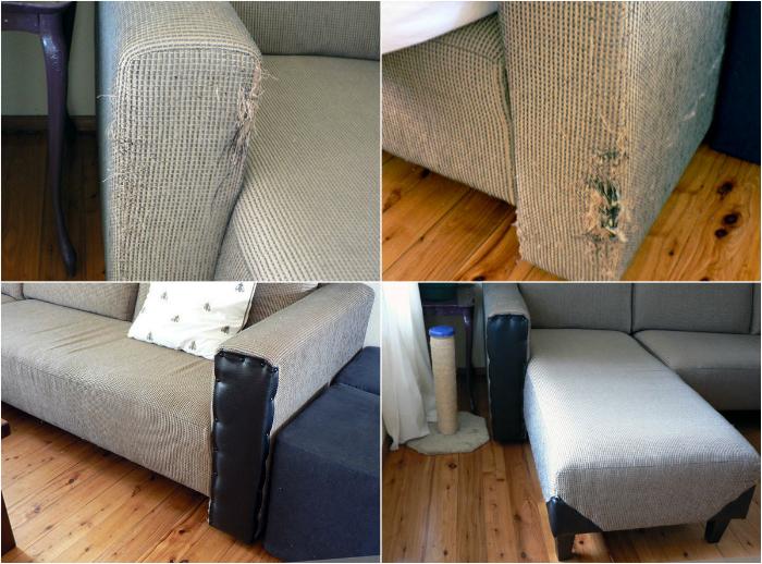Как в домашних условиях освежить обивку дивана