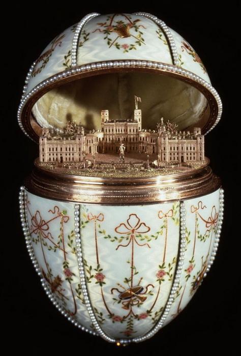 Гатчинский дворец, яйцо Фаберже, 1901