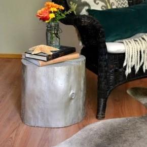 мебель из пней в интерьере