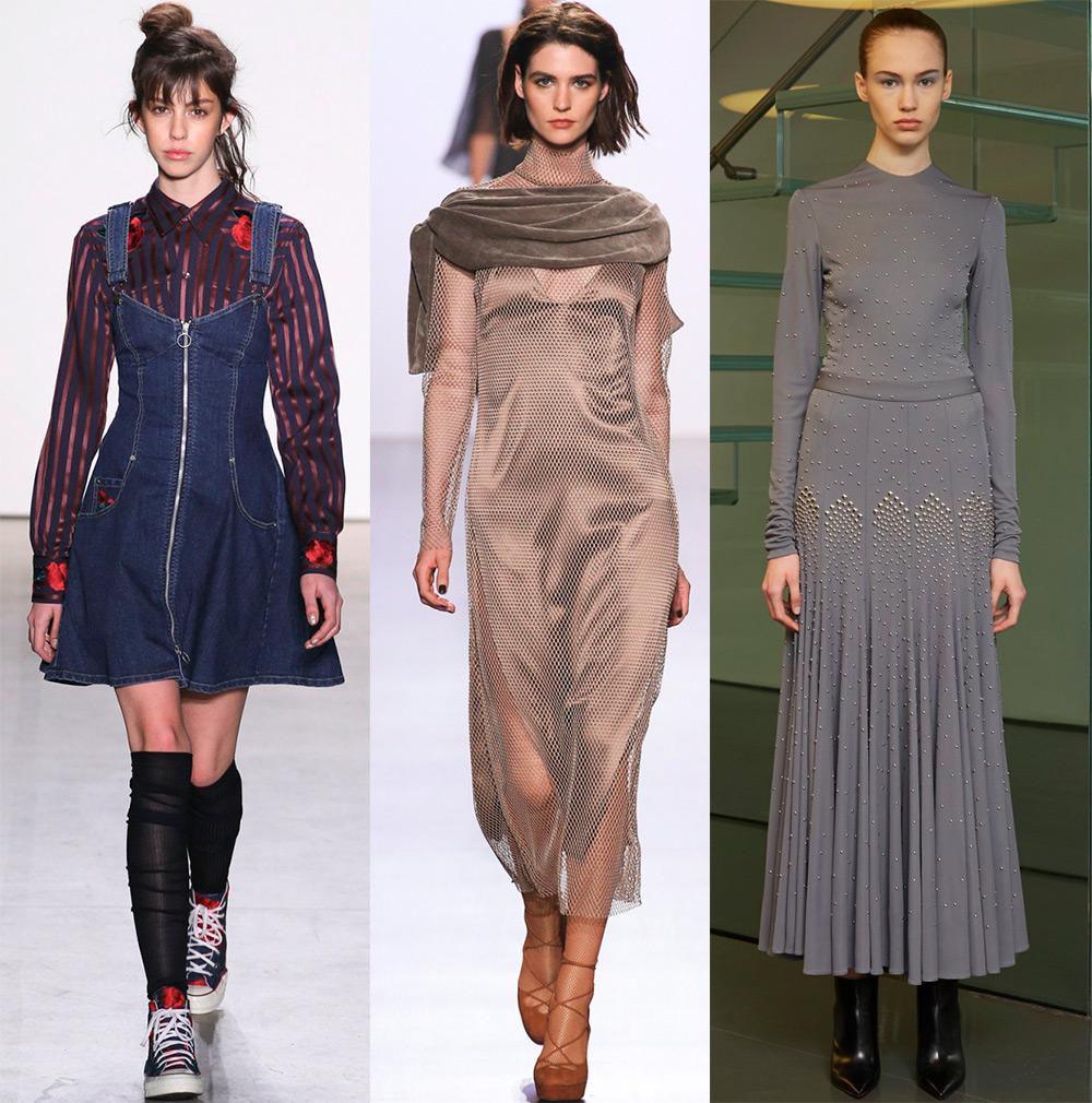2017-2018 платье модное
