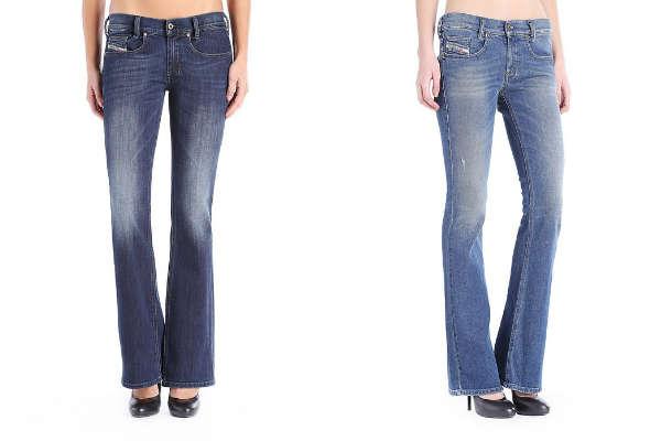Модные джинсы-клеш осень-зима 2015-2016
