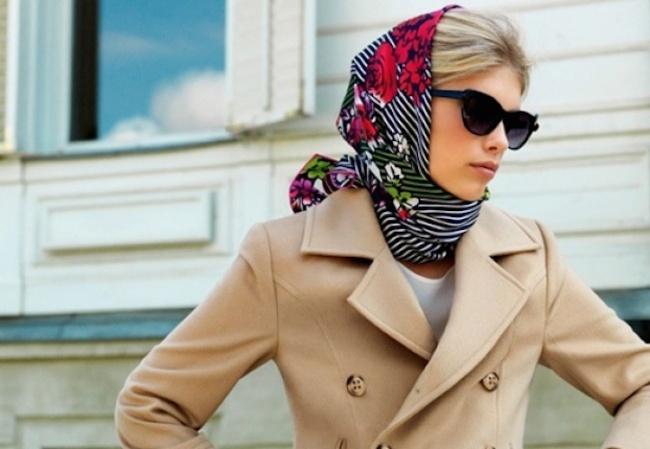 10 способов завязать платок так, чтобы все ахнули