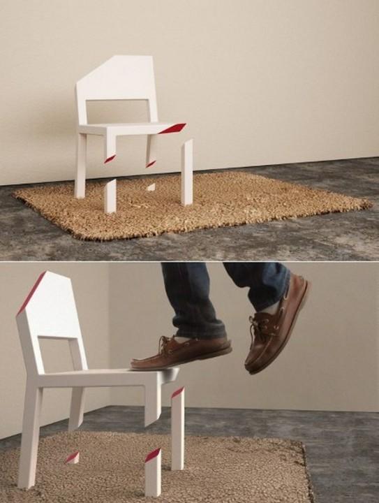 Креативная мебель - 30 интересных идей для интерьера дома в фотографиях