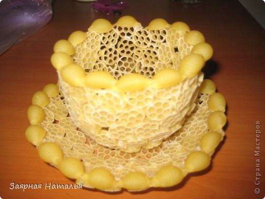 Как сделать из макарон поделки