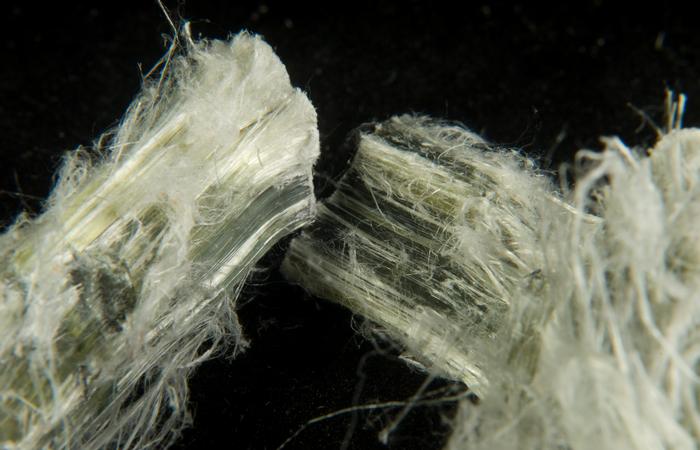 Природный материал асбест.