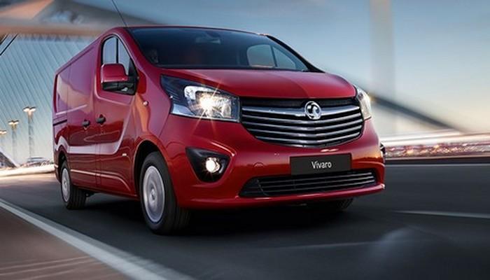 Минивэн Vauxhall Vivaro.