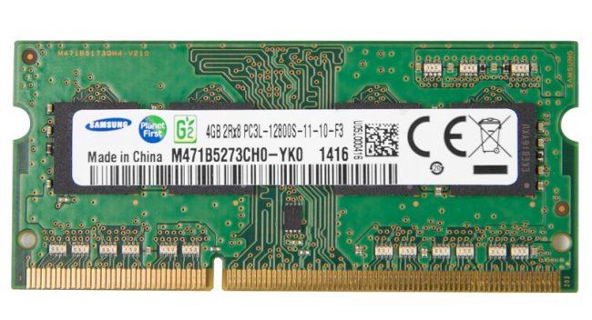 Модуль ОЗУ DDR3 для ноутбука