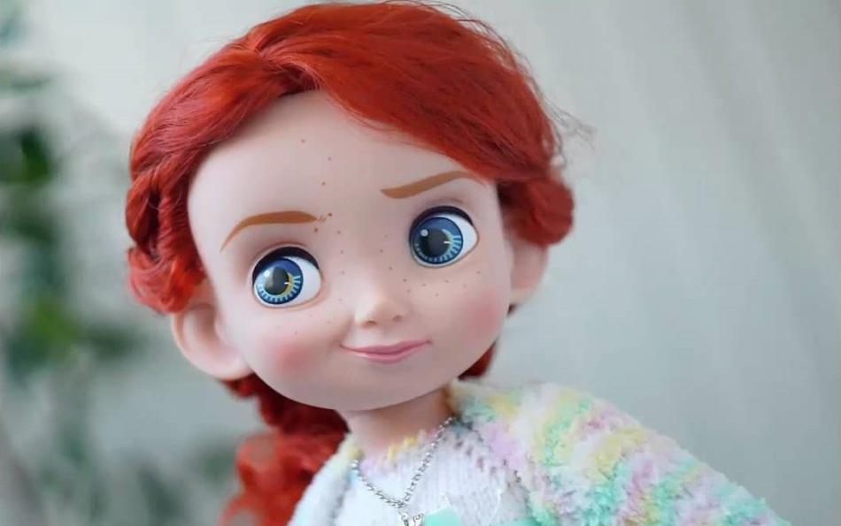 Красивая кукла сделанная своими руками 257