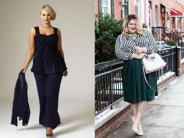 Мода для полных женщин осень-зима 2014-2015 | Мода и стиль для
