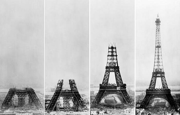 Эйфелева башня не должна была стать постоянным сооружением.