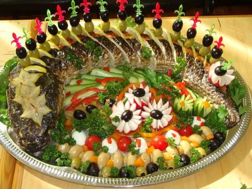 украшение блюд своими руками016