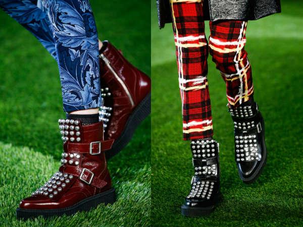 Модные ботильоны осень-зима 2015-2016: элементы декора
