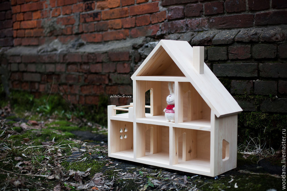 Деревянный домик своими руками мастер класс