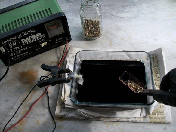 Электролиз в домашних условия