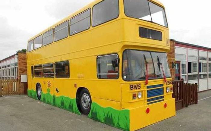 8. Автобус-школа автобус, креатив, луаз