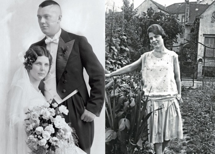 Энне и ее муж Франц Бурда | Фото: de.academic.ru и moda.jofo.ru