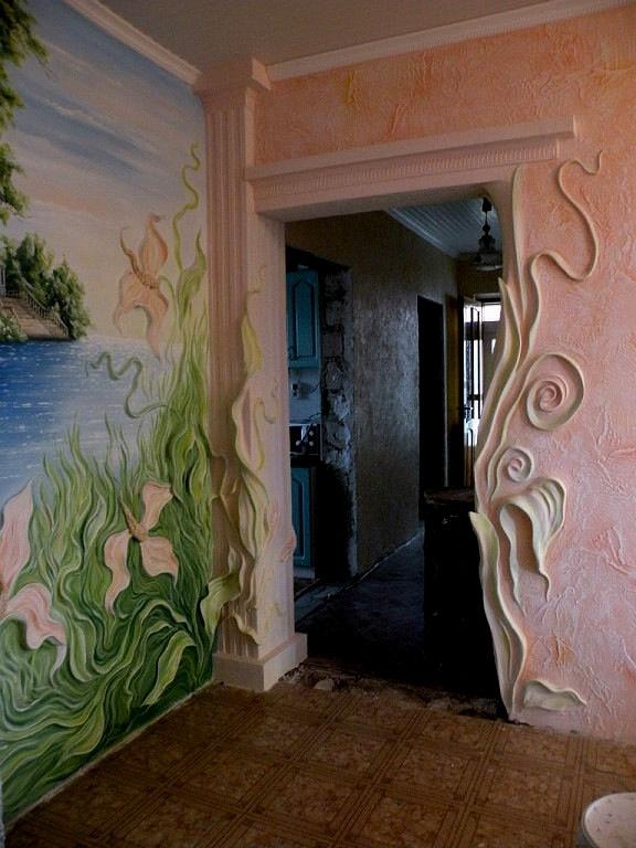 """декор стен квартиры своими руками """" Все о креативном дизайне"""