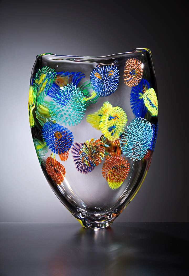 Стеклянные миры от итальянского художника искусство, стекло