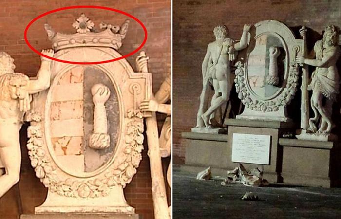 Statua dei due Ercole.