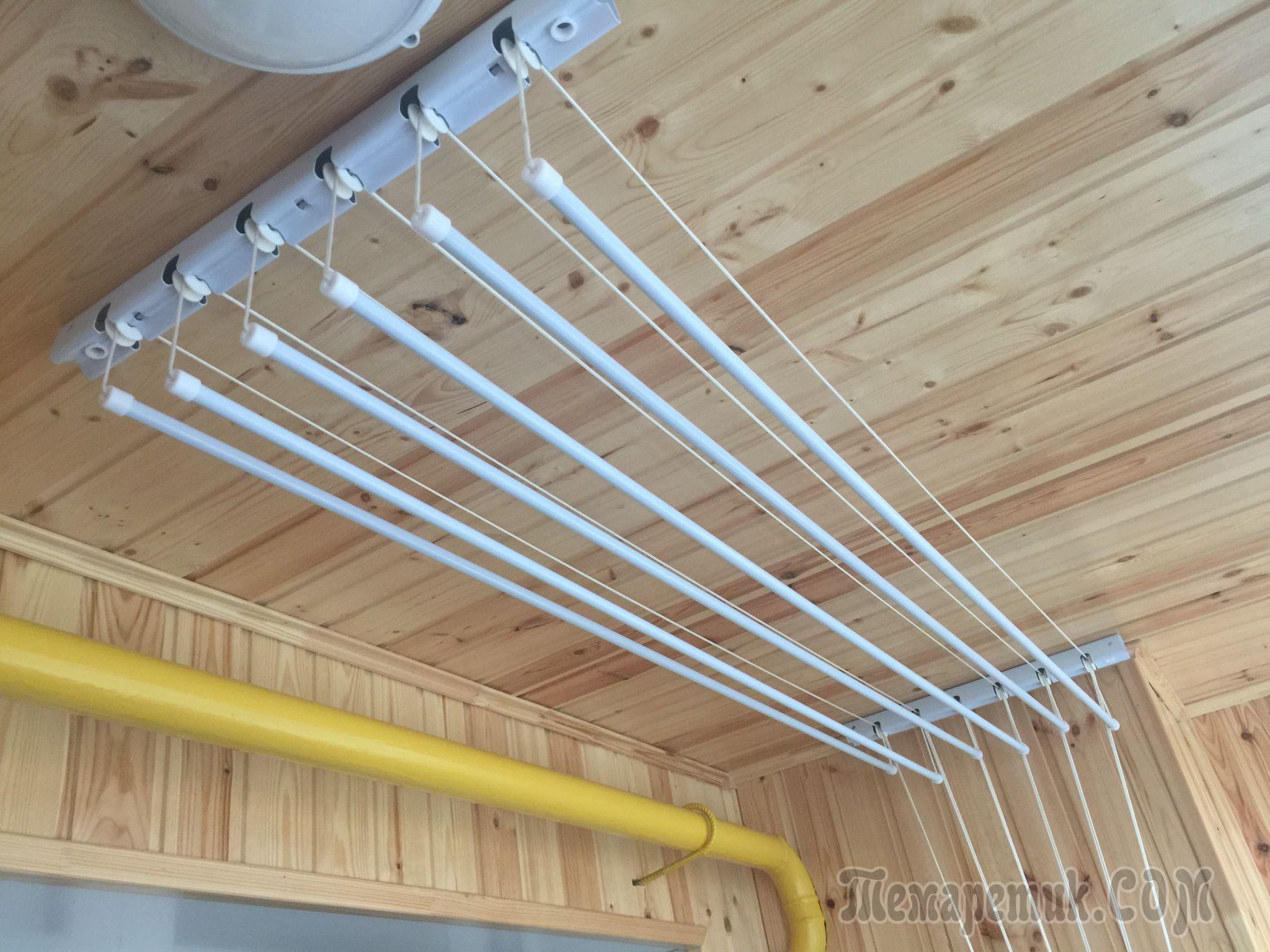 Лиана для белья ремонт верёвок