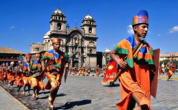 Фестиваль солнца в Перу
