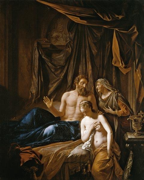 Сарра приводит Агарь к Аврааму