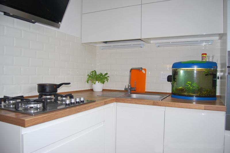 Дизайн длиной кухни