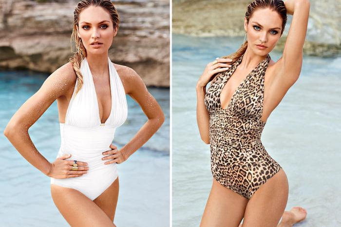 Модные слитные купальники: стильно и сексуально: Модель с пуш-апом точно понравится девушкам,мечтающим о более пышных формах.