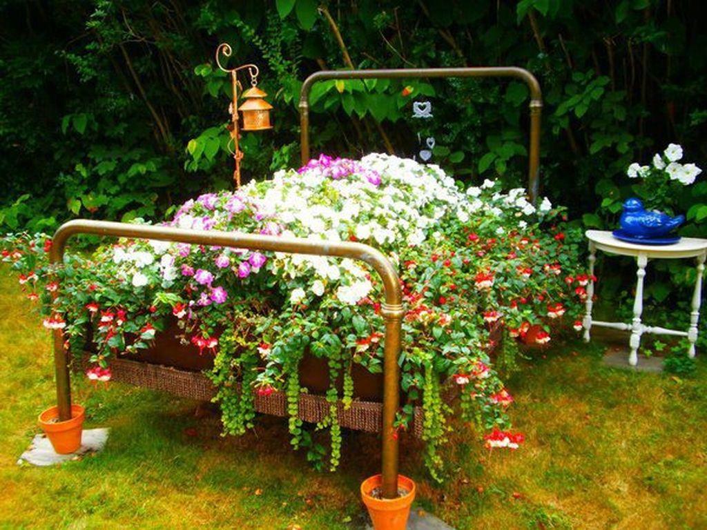 Садовый дизайн своими руками из подручных