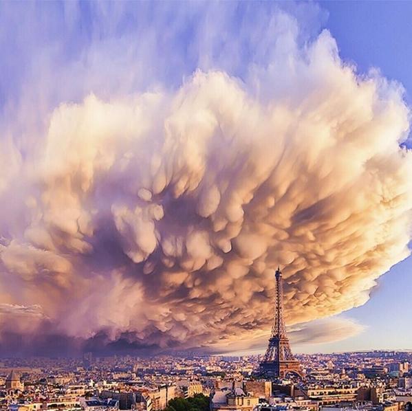 Песчаный шторм в Париже 2015. Автор: Robert Jahns.