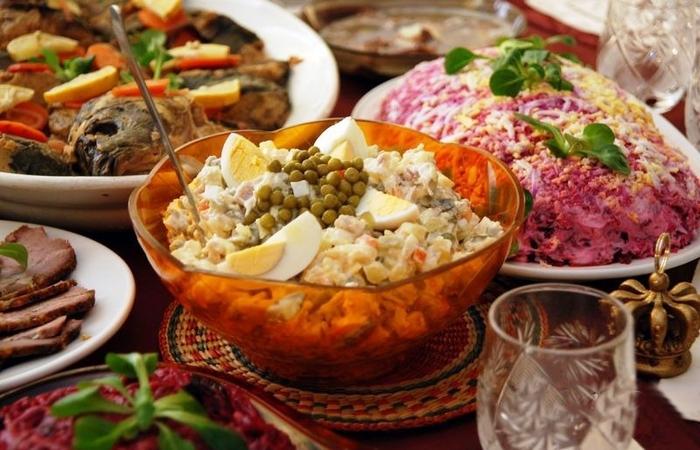 Салат оливье: на столе в каждой советской семье.