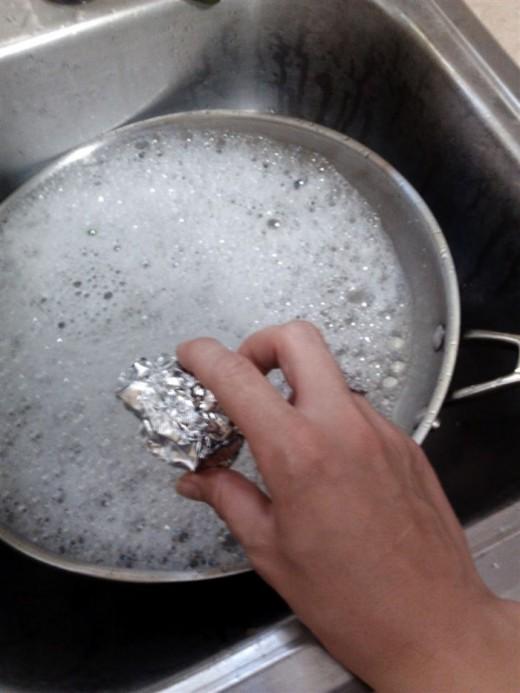 Аллюминевая фольга для посуды