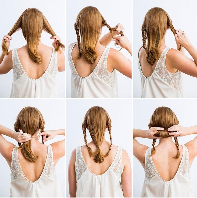 Новая коса прически - Школа плетения кос