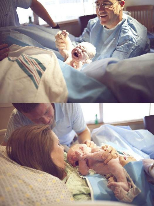 Каждая женщина не забудет первое прикосновение к своему ребенку.