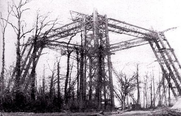 В итоге конструкцию снесли в 1907 году.