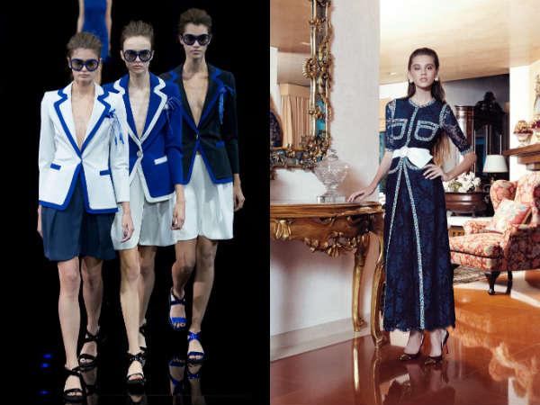 Модный классический синий цвет весна-лето 2015