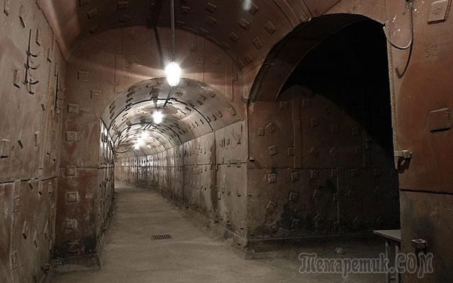 подземные города россии