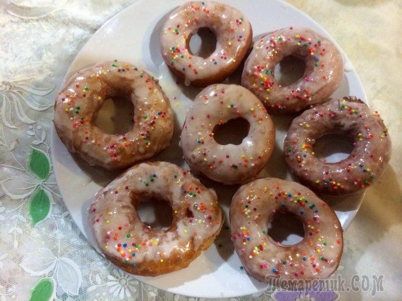 Как сделать домашние пончики самый простой