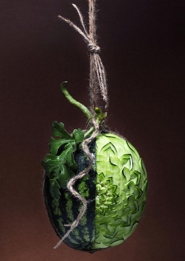 Резьба по овощам