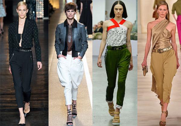Брюки бананы - модный тренд весны-лета 2015